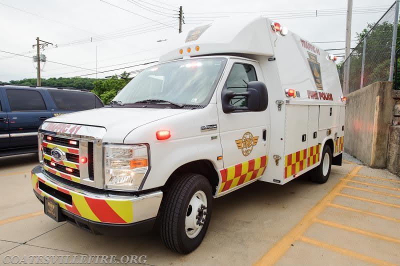 Coatesville Fire Police Traffic 41