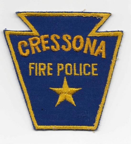 Cressona Fire Police PA