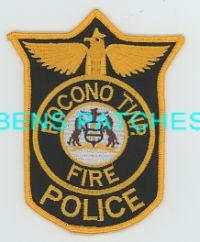 Pocono Township PA Fire Police