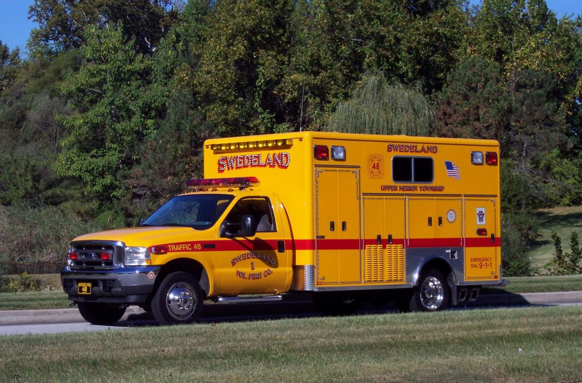 Swedeland Volunteer Fire Company Upper Merion Township Traffic 48 - renamed Utilility 48