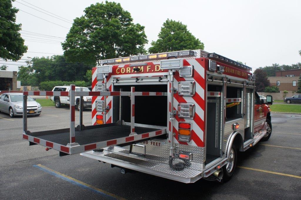 Coram Fire Police NY  5-6-9   9