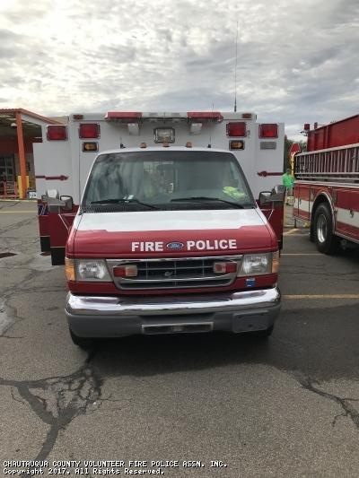 CHAUTAUQUA COUNTY VOLUNTEER FIRE POLICE ASSN. INC. Mayville NY TC-1 3