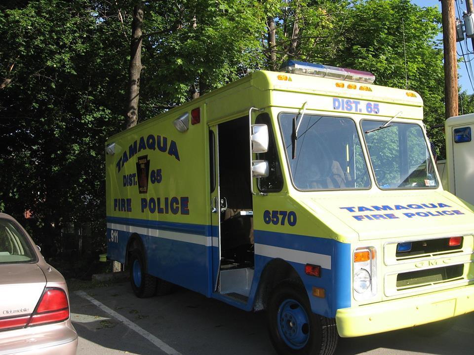 Tamaqua PA Fire Police 6570 OLD 2