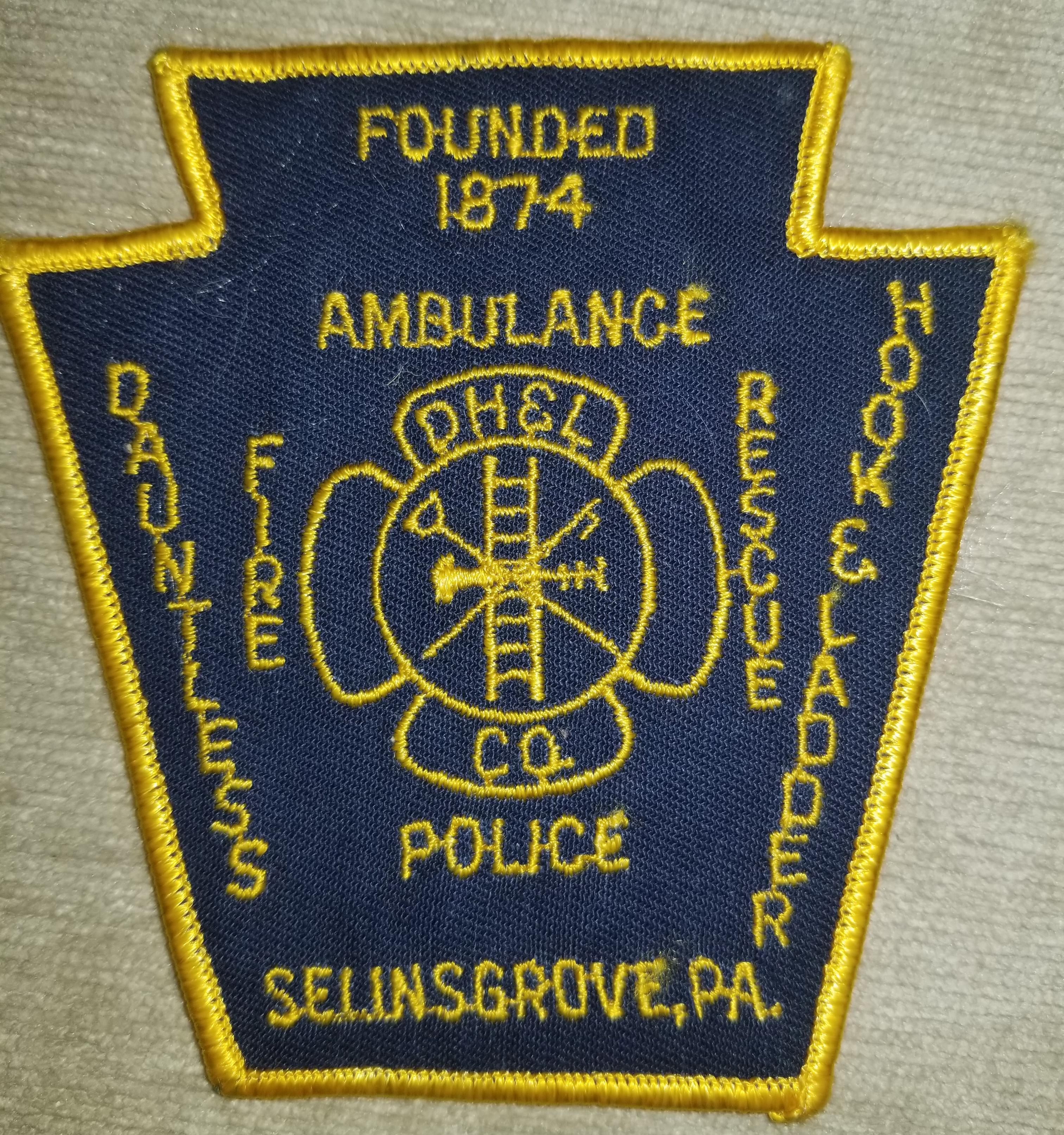 Dauntless Hook & Ladder Fire Police Seli