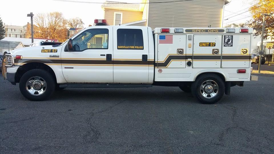 Danville PA Fire Police Unit 57