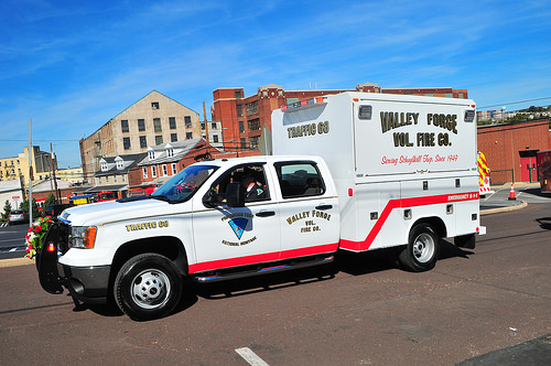 Valley Forge Volunteer Fire Company PA Traffic 68 2