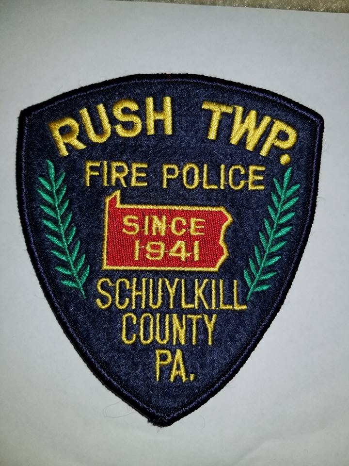 Rush Township Schuylkill County PA Fire Police 2