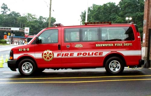 Brewster Fire Department NY FIRE POLICE 11-8-2