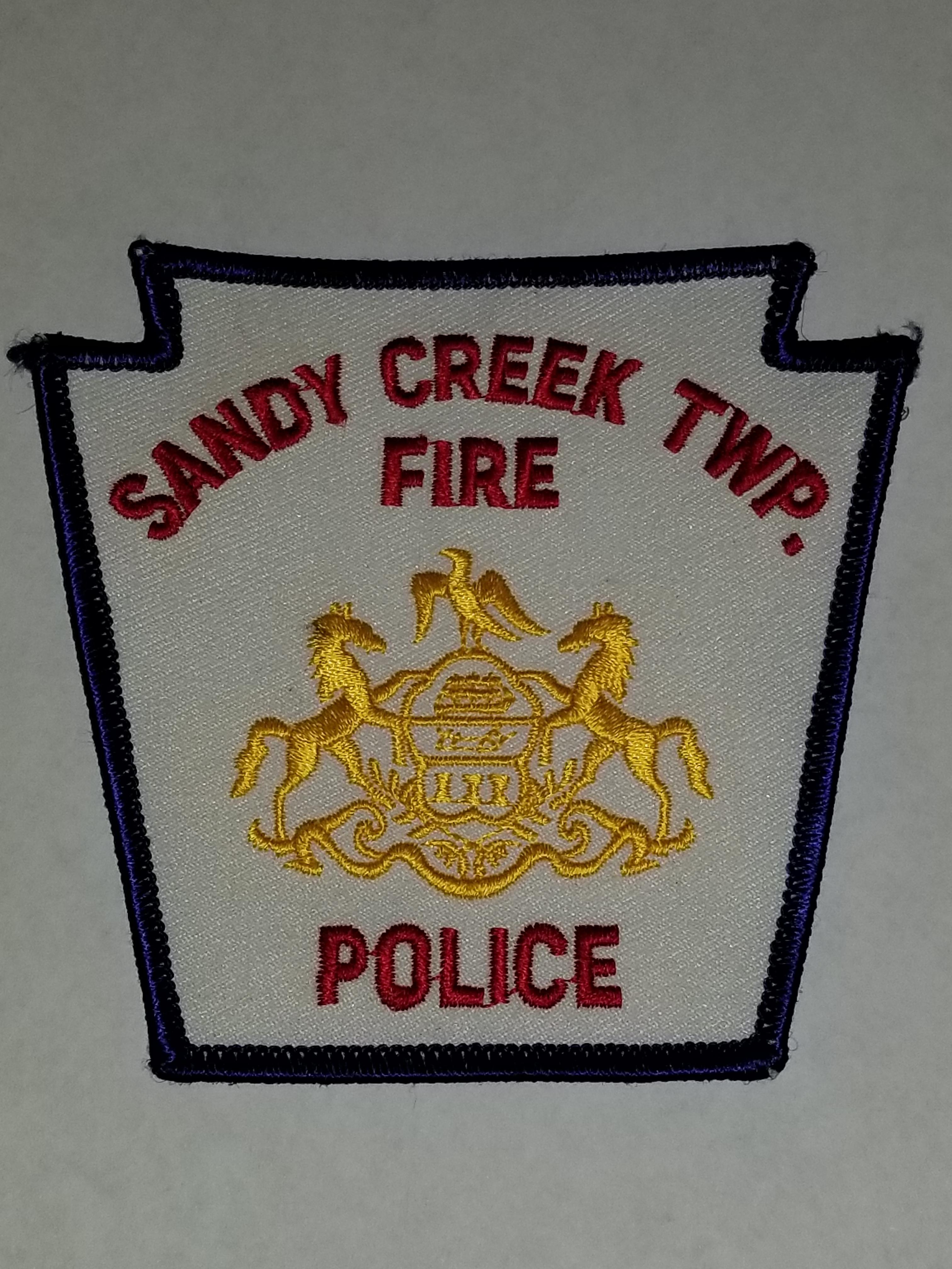 Sandy Creek Township PA Fire Police
