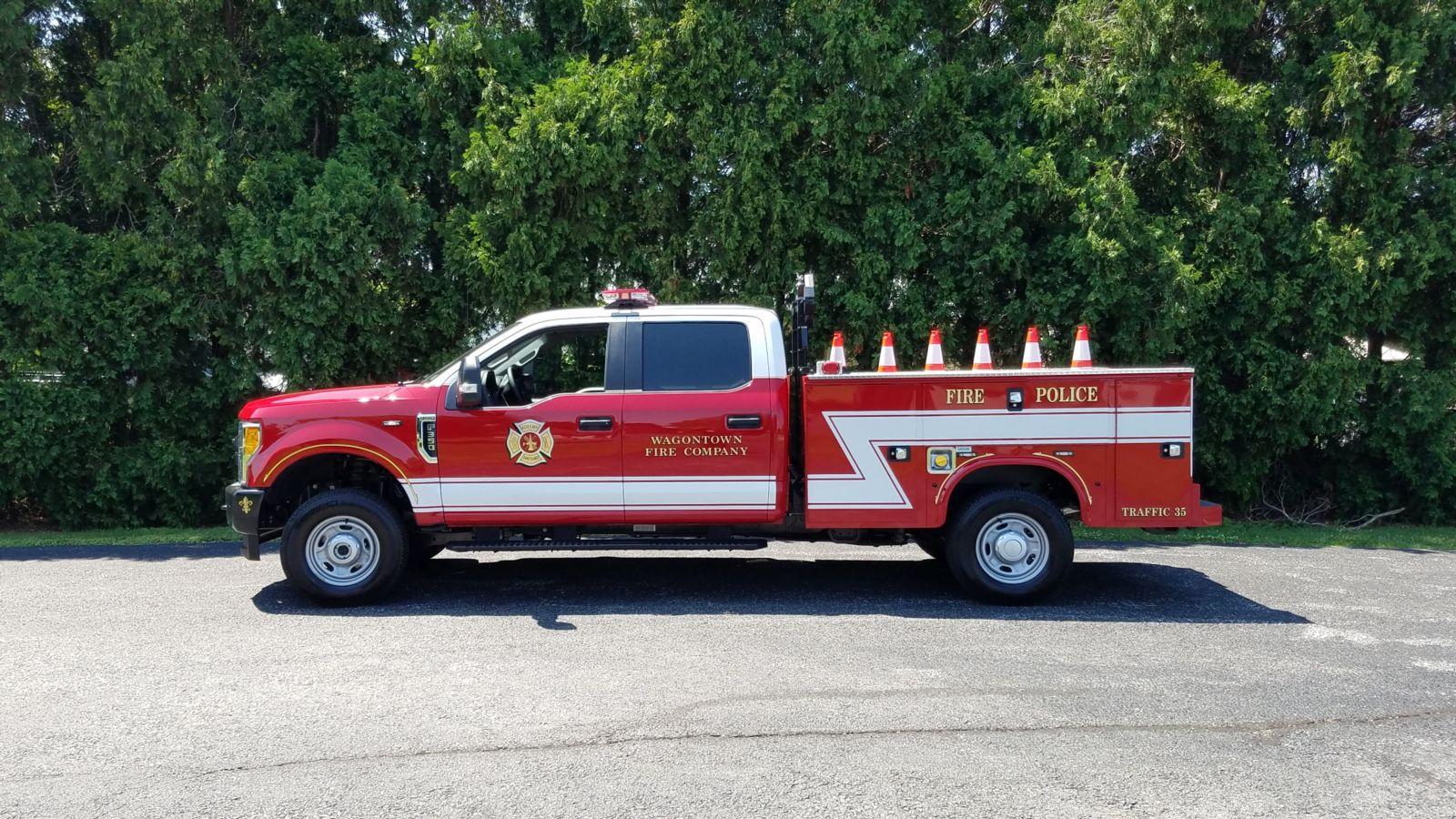 Wagontown Volunteer Fire Company PA Traffic 35 4