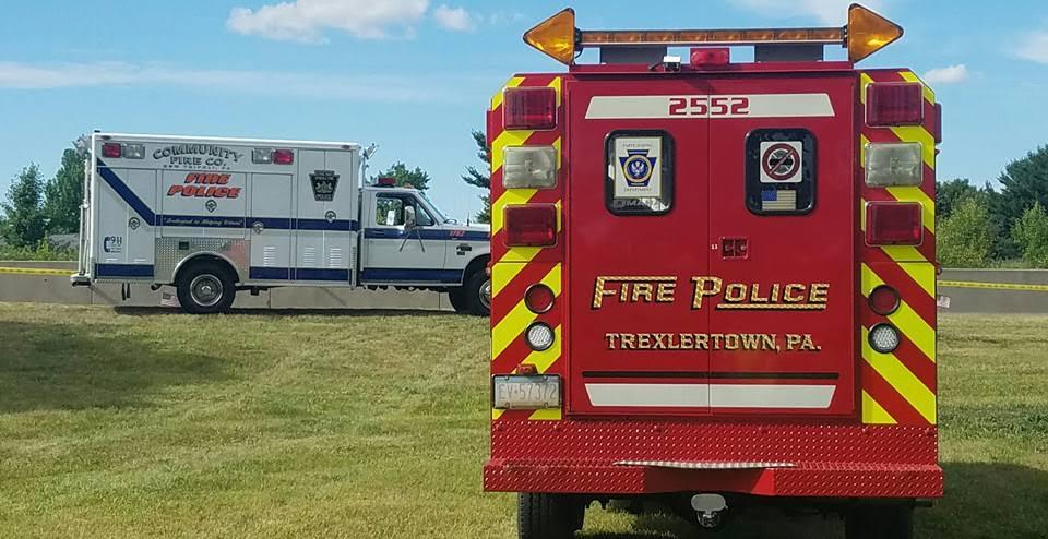 Trexlertown Fire Polce Traffic 2552