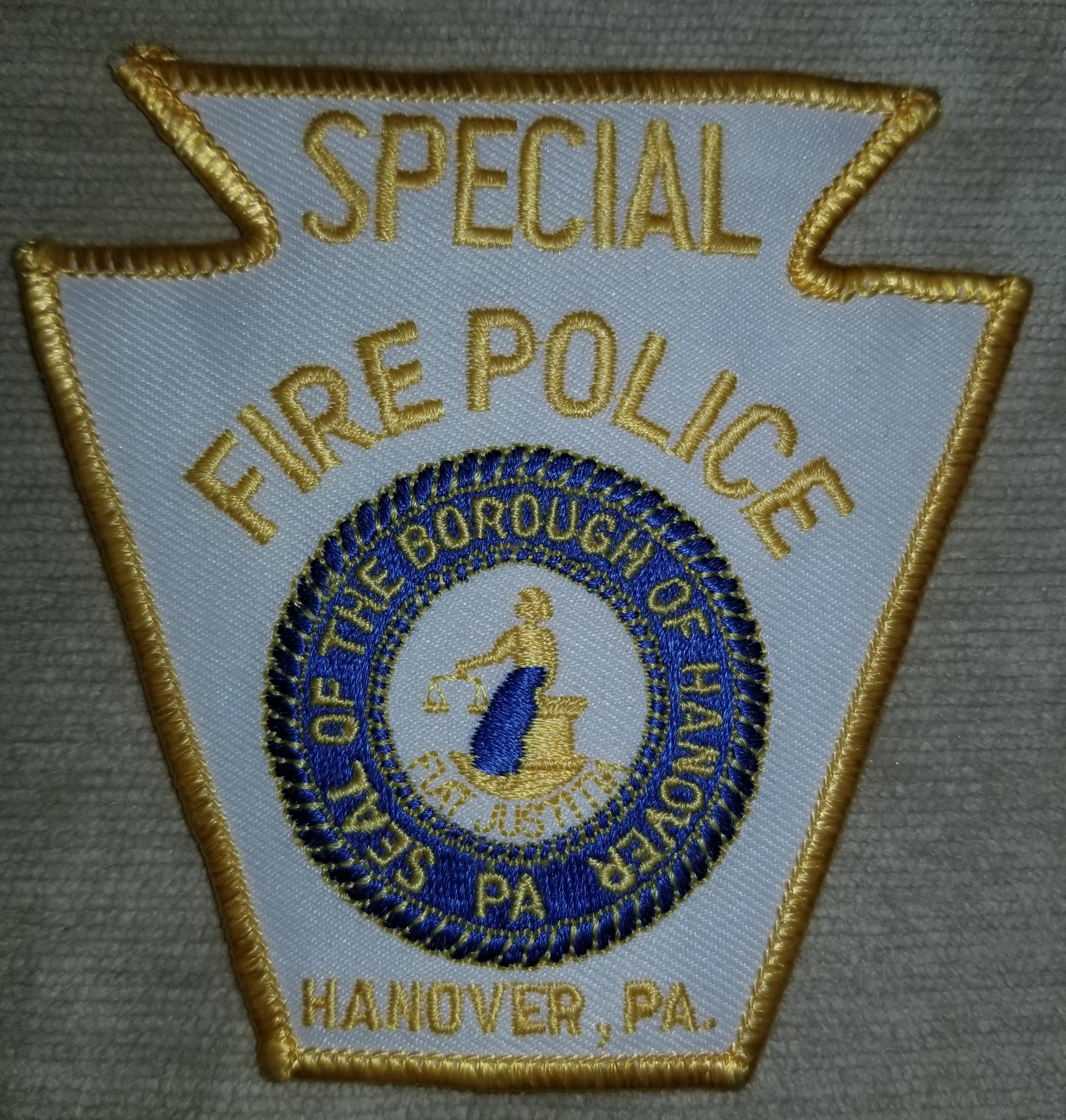 Hanover Borough Fire Police 2 PA