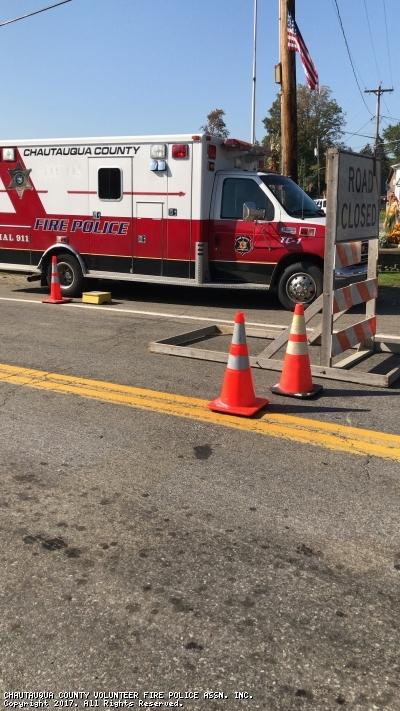 CHAUTAUQUA COUNTY VOLUNTEER FIRE POLICE ASSN. INC. Mayville NY TC-1 4