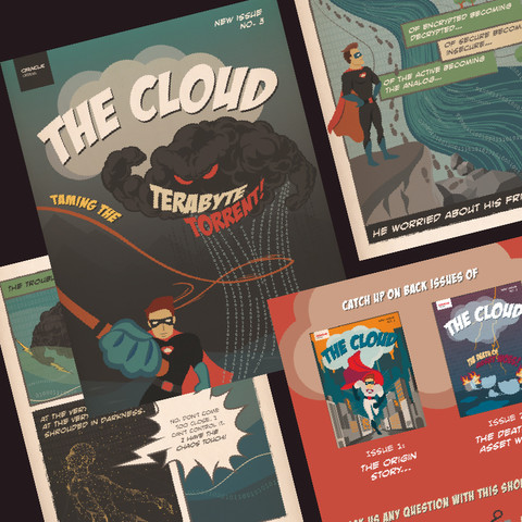 Comic Cloud Campaign