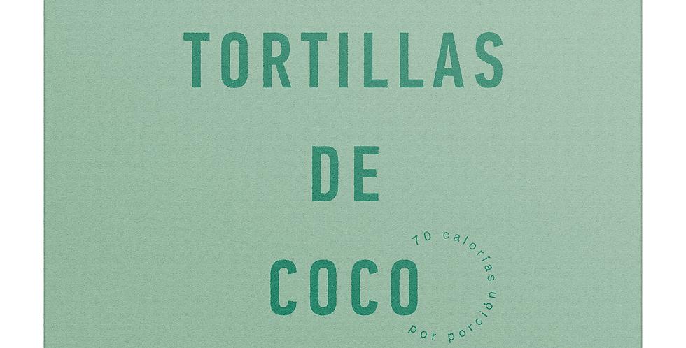 Tortillas de Coco -  2 paquetes