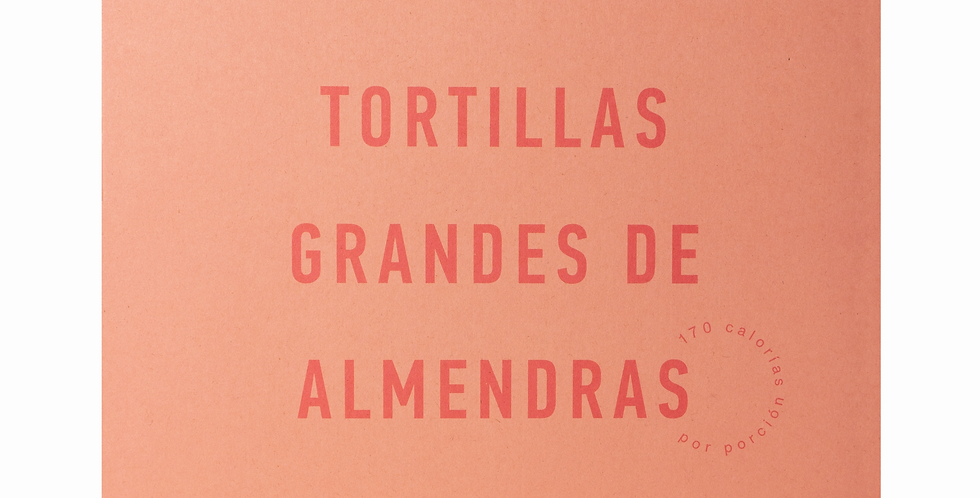 Tortillas Grandes de Almendras