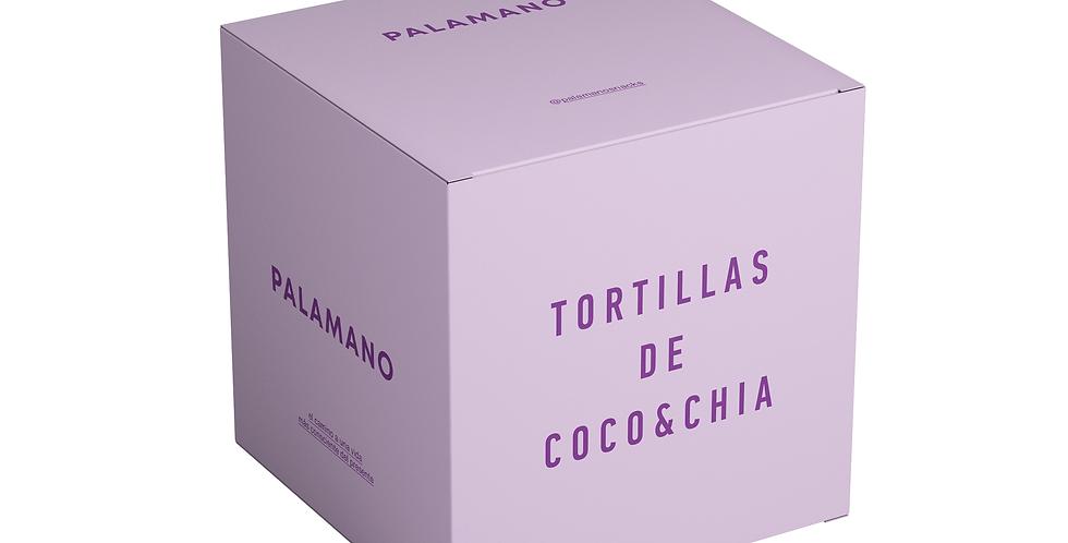 Tortillas de Coco y Chía - 6 paquetes