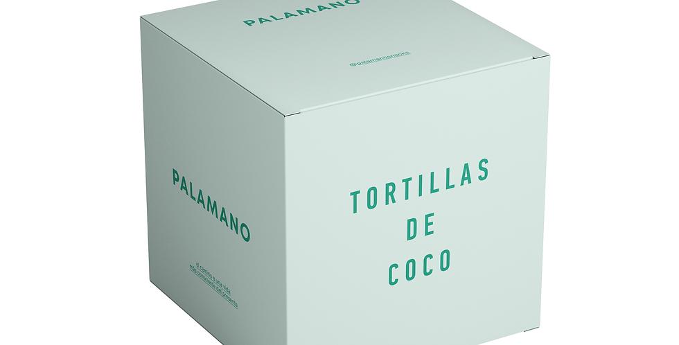 Tortillas de Coco - 6 paquetes