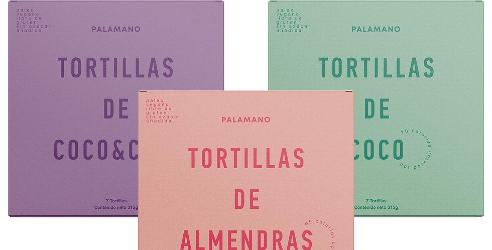 Combo de Tortillas - 3 paquetes