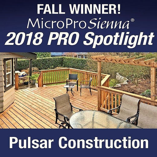 Pulsar Construction is the fall winner o