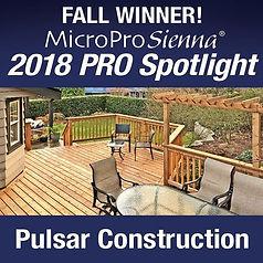 Pulsar Construction is the fall winner M