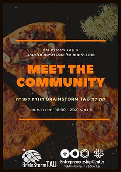 Meet the Brainstorm TAU Community
