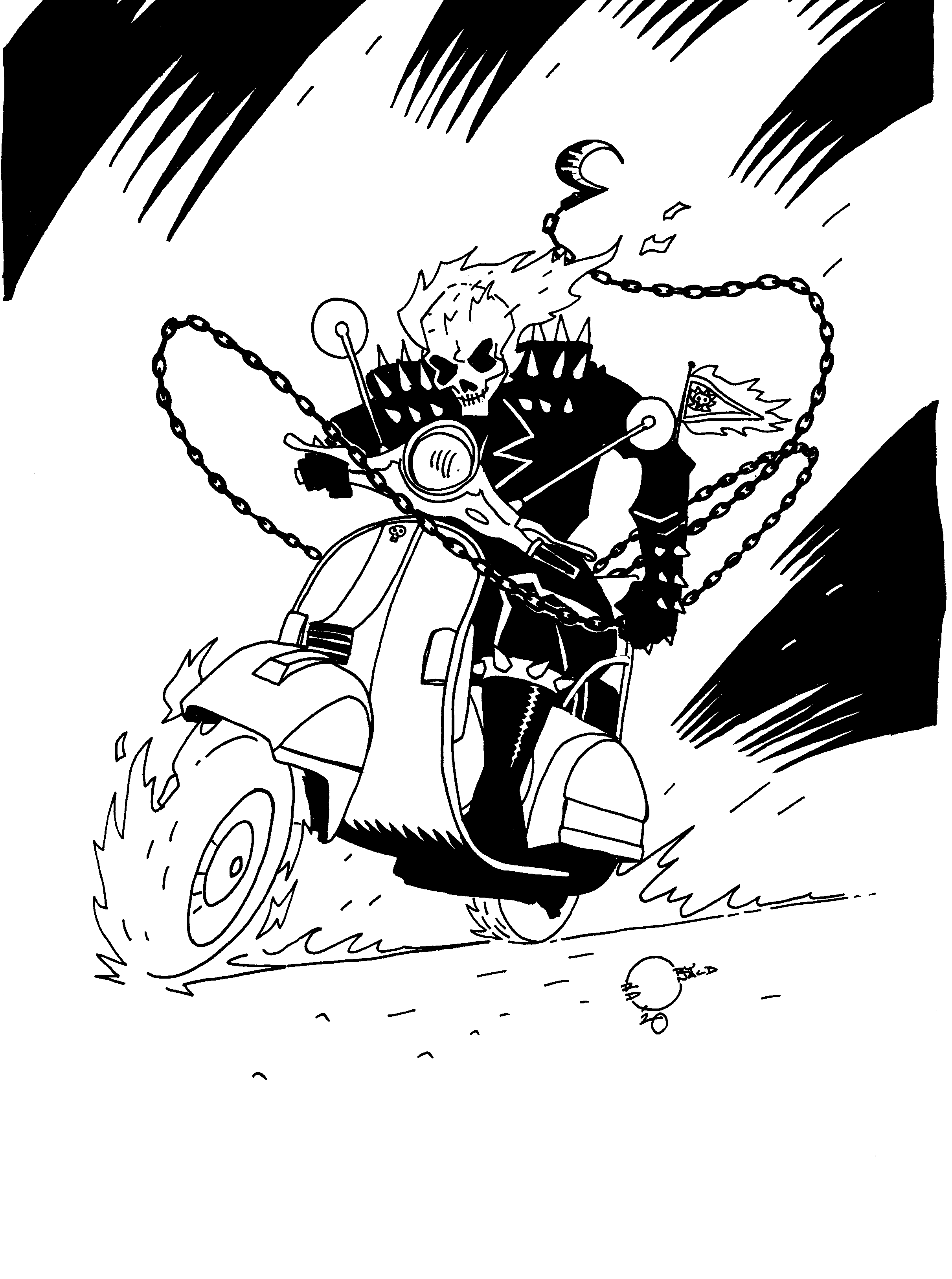 Ghost Rider commish