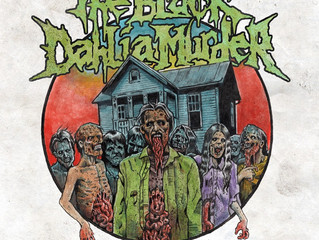 CANINE TO SUPPORT THE BLACK DAHLIA MURDER IN RUSSIA