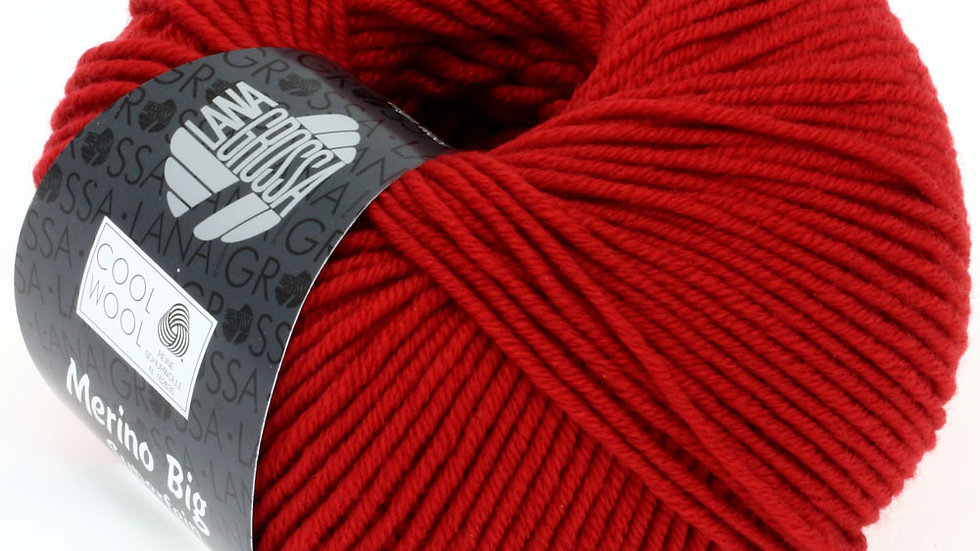 Cool Wool BIG   924 - Dunkelrot