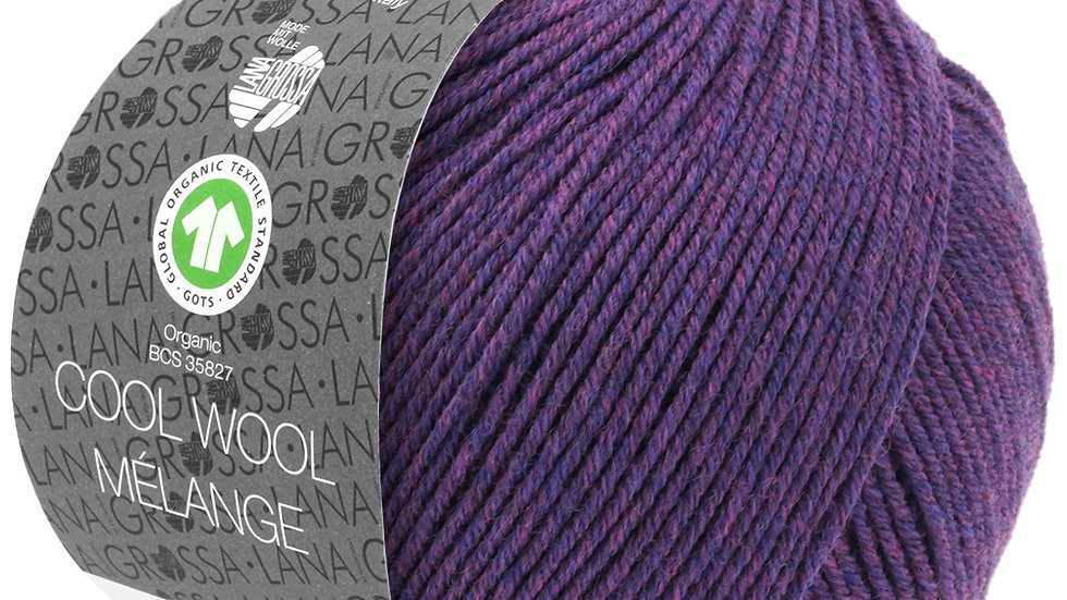 Cool Wool Mèlange   103 - Dunkelviolett meliert