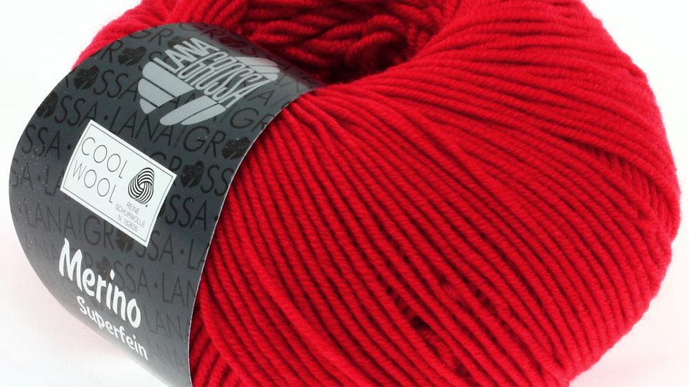 Cool Wool   417 - Leuchtendrot