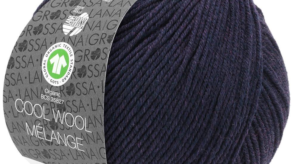 Cool Wool Mèlange | 102 - Aubergine meliert
