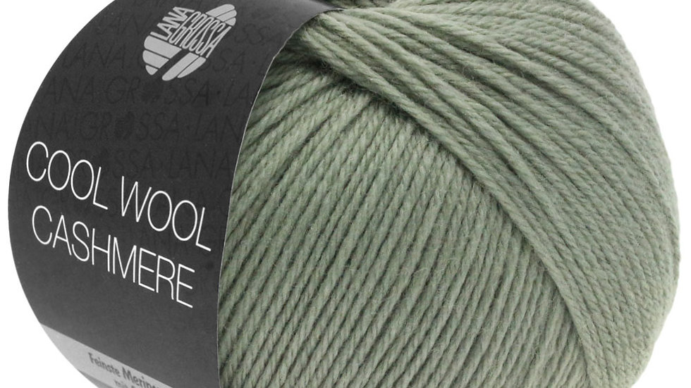 Cool Wool Cashmere   33 - Graugrün