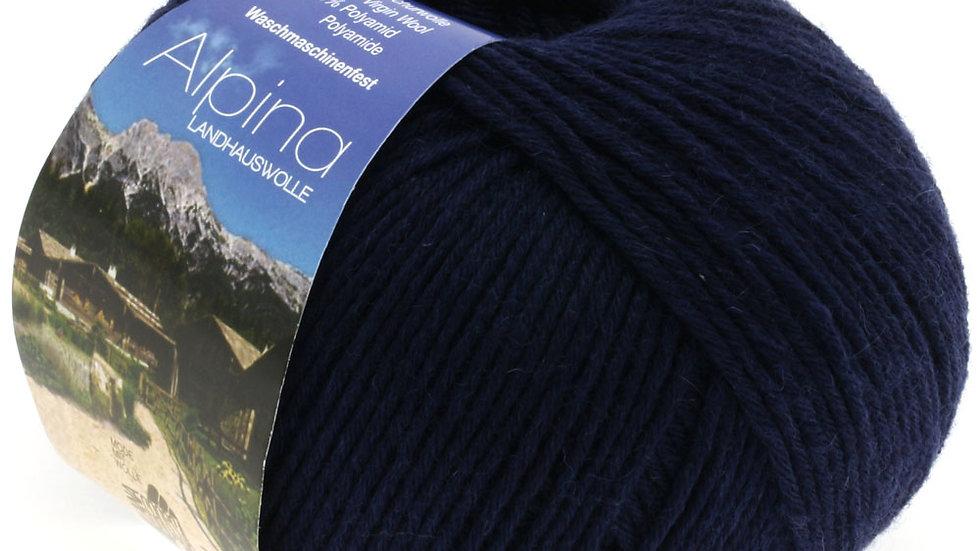 Alpina Landhauswolle   8 - Nachtblau