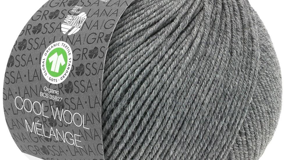 Cool Wool Mèlange | 121 - Dunkelgrau meliert