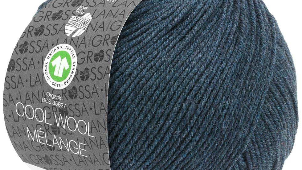 Cool Wool Mèlange   111 - Schwarzblau meliert
