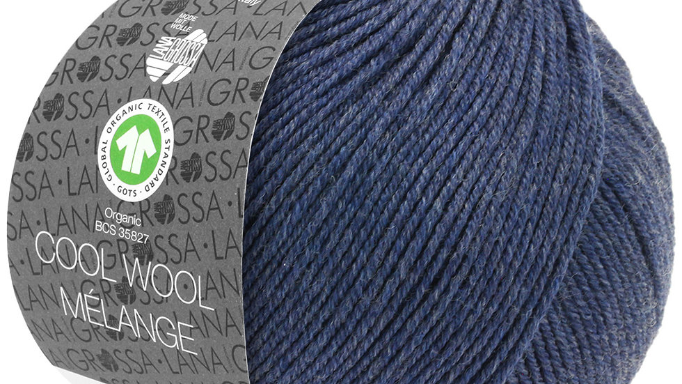 Cool Wool Mèlange   112 - Dunkelblau meliert