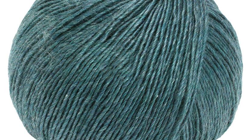 Lace Seta Mulberry   18 - Dunkelpetrol