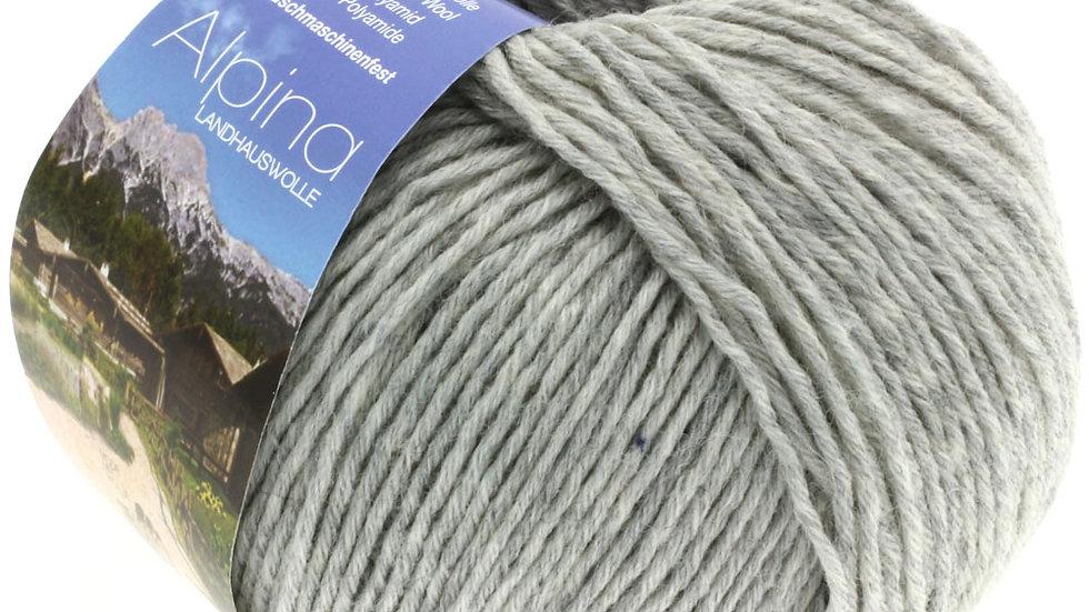 Alpina Landhauswolle | 4 - Hellgrau meliert