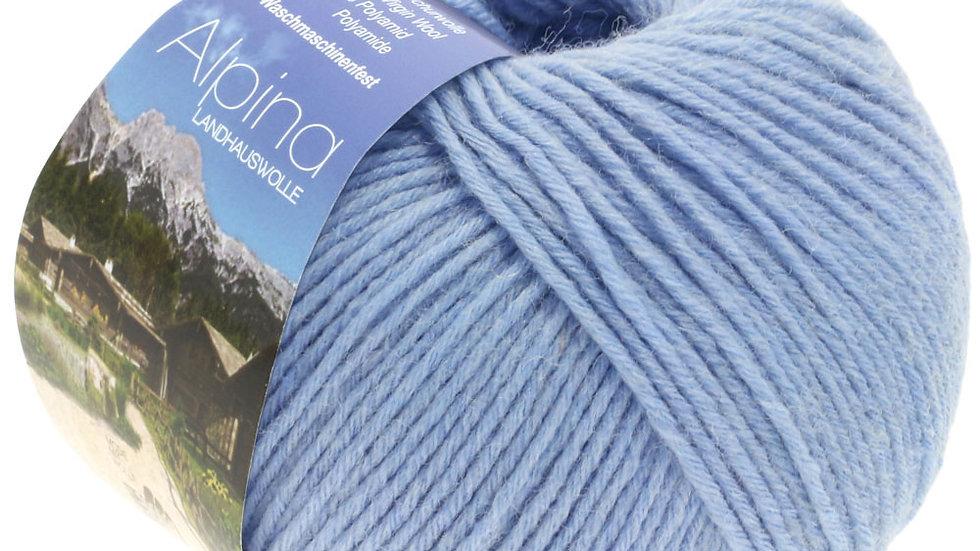 Alpina Landhauswolle   37 - Hellblau