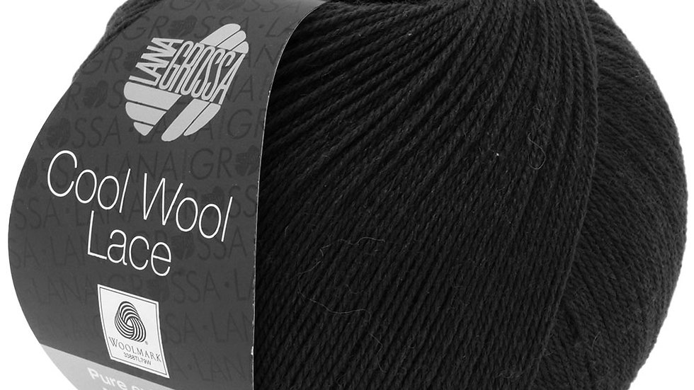 Cool Wool Lace   24 - Schwarz