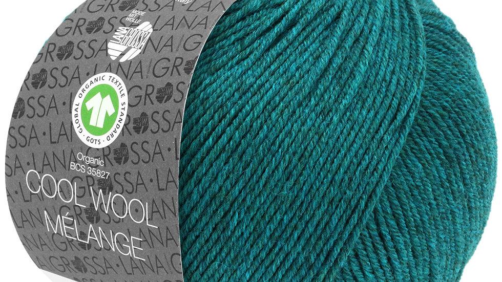 Cool Wool Mèlange   105 - Petrol meliert