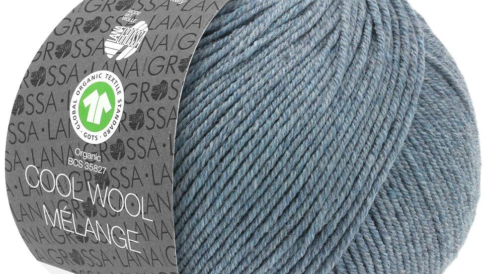 Cool Wool Mèlange | 110 - Graublau meliert