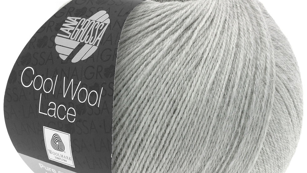Cool Wool Lace   27 - Hellgrau