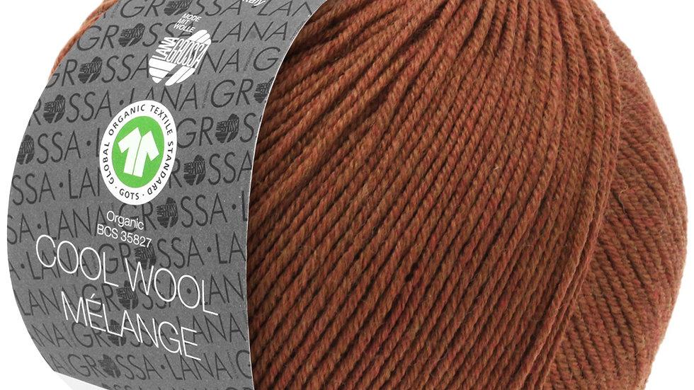 Cool Wool Mèlange   116 - Braun meliert