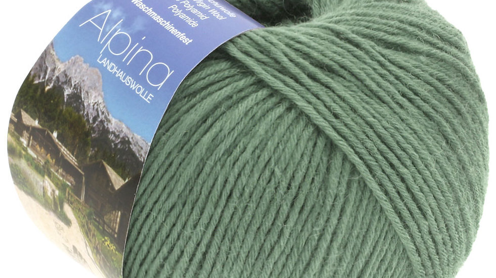 Alpina Landhauswolle | 38 - Graugrün