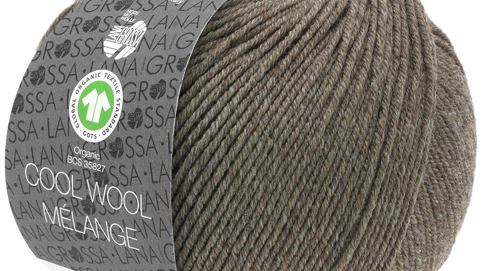 Cool Wool Mèlange | 124 - Graubraun meliert