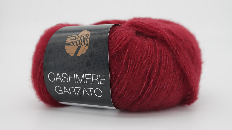 Cashmere Garzato | 03 - Rot