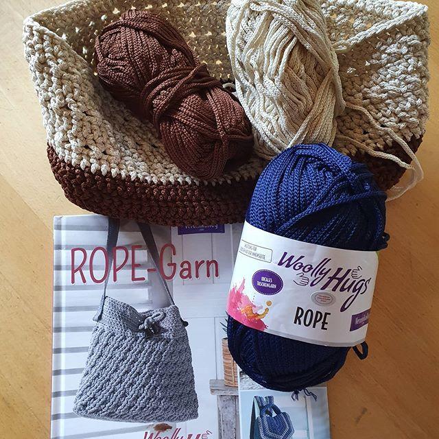 Eine lässige Tasche aus Woolly Hugs' Rop