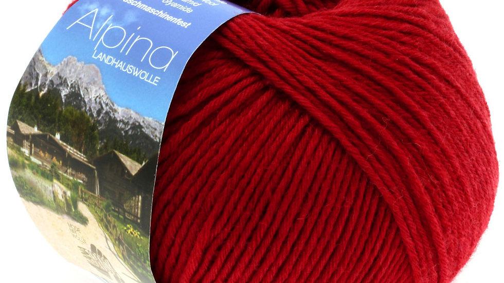 Alpina Landhauswolle   15 - Rot
